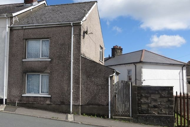 Thumbnail End terrace house for sale in Somerset Street, Brynmawr, Ebbw Vale