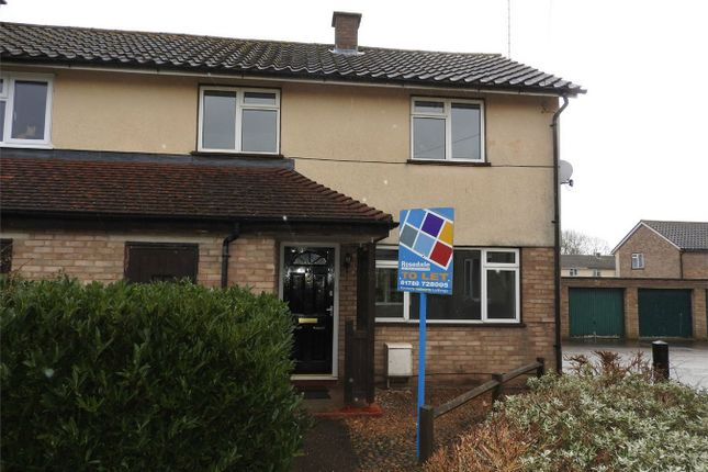 2 bed terraced house to rent in Lawrence Road, Wittering, Peterborough, Cambridgeshire