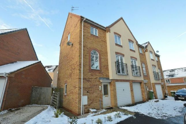 Thumbnail End terrace house for sale in Goodheart Way, Thorpe Astley, Leicester