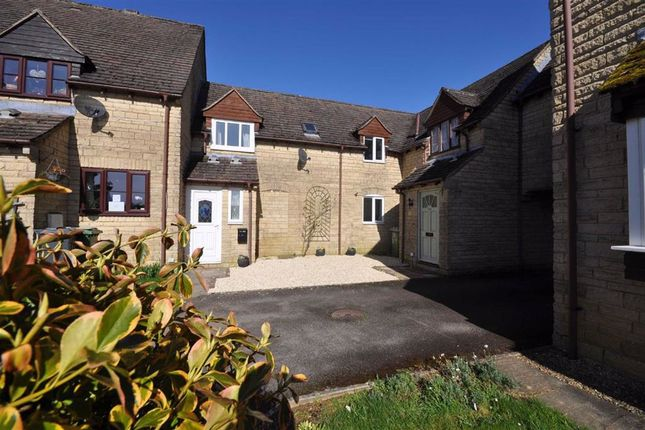 Thumbnail Terraced house for sale in Farriers Croft, Bussage, Stroud