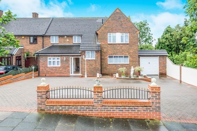 Thumbnail Semi-detached house for sale in Noak Hill, Romford, Essex
