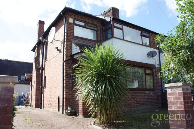 3 bed semi-detached house for sale in Castlemoor Avenue, Salford