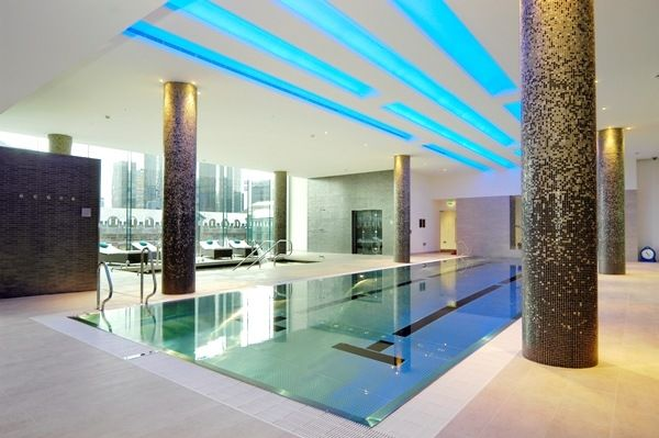 Swimming Pool of Pan Peninsula Square, East Tower, Canary Wharf E14