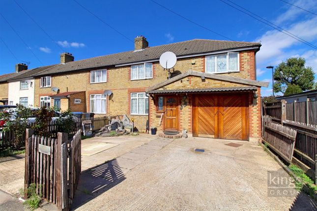 Thumbnail End terrace house for sale in Thornaby Gardens, Edmonton