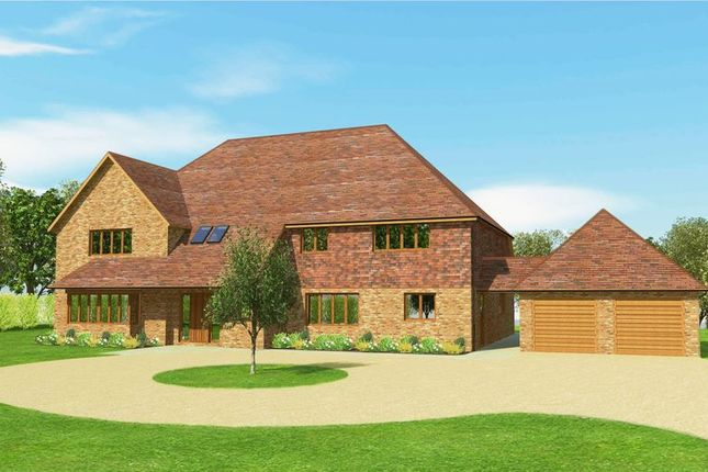 Thumbnail Detached house for sale in Design And Build Opportunity........Worth Way, Worth, Crawley, West Sussex