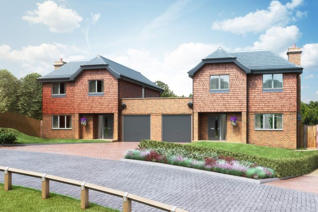 """Thumbnail Semi-detached house for sale in """"The Shire"""" at Redlands Lane, Crondall, Farnham"""