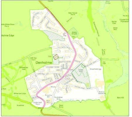 Thumbnail Land for sale in Station Road, Denholme Bradford