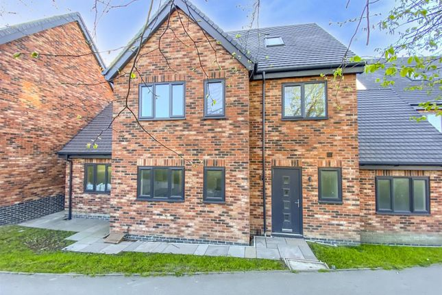 4 bed link-detached house for sale in Nottingham Road, Trowell, Nottingham NG9