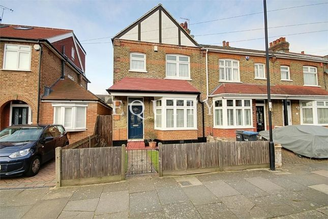 Thumbnail End terrace house for sale in Amberley Road, Enfield