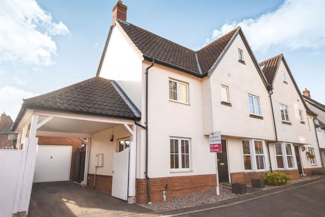 Thumbnail Semi-detached house for sale in Cornelius Vale, Springfield, Chelmsford