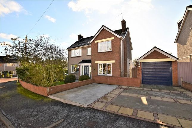 Thumbnail Detached house for sale in 1 Tyla Teg, Rhiwbina, Cardiff.