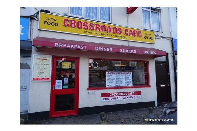 Thumbnail Restaurant/cafe to let in 329 Wallisdown Road, Bournemouth