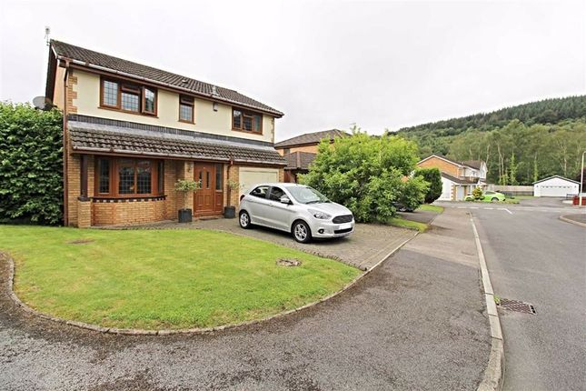 Thumbnail Detached house for sale in Grovers Field, Abercynon, Mountain Ash