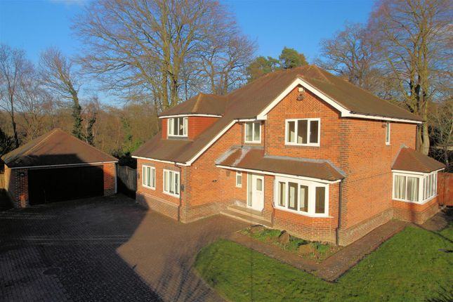 Thumbnail Detached house for sale in Pond Road, Hook Heath, Woking