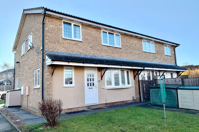 Thumbnail End terrace house to rent in Kempston, Bedford