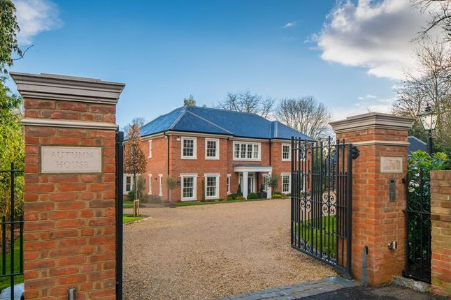 Thumbnail Detached house for sale in Rectory Road, Taplow Village