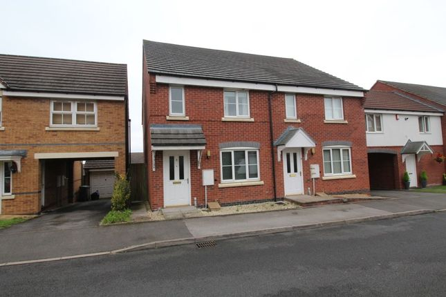 Thumbnail Detached house to rent in Northgate Close, Dudley