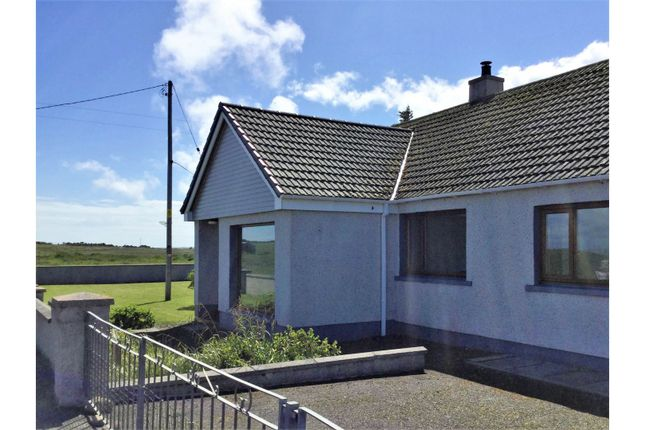 Thumbnail Detached bungalow for sale in Mey, East Mey, Thurso
