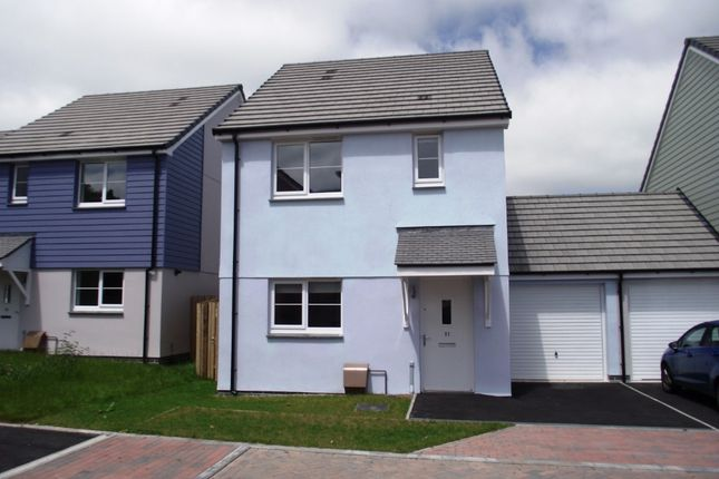Thumbnail Semi-detached house to rent in Chyvelah Close, Truro