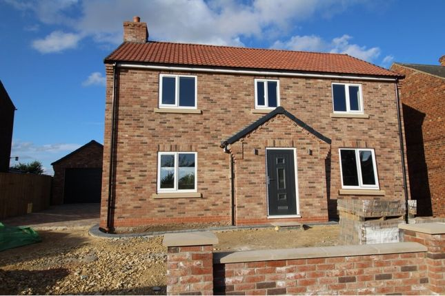 Thumbnail 4 bed detached house for sale in Brigg Lane, Camblesforth, Selby