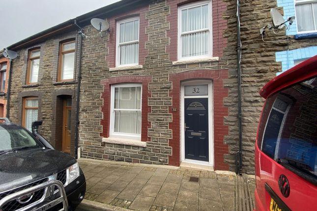 Thumbnail Terraced house for sale in Bronllwyn Road, Gelli -, Pentre