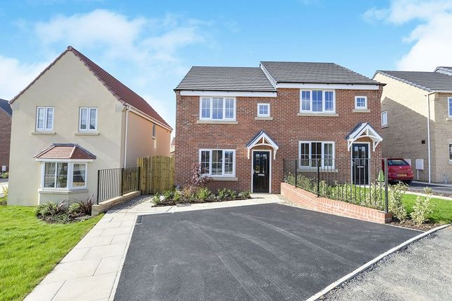 Thumbnail Semi-detached house to rent in Sandstone Road, Eastfield, Scarborough