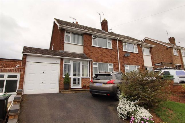 Thumbnail Semi-detached house for sale in Longfellow Road, The Straits, Lower Gornal