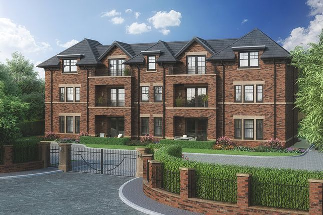 Thumbnail Flat for sale in Fernleigh House, Alderley Road, Wilmslow