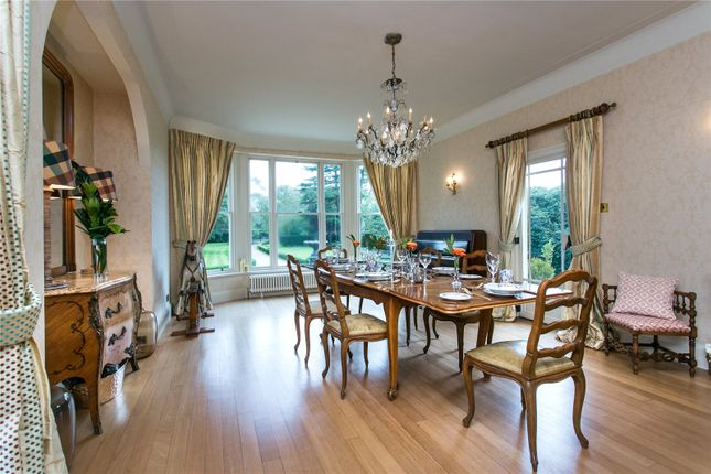 Dining Room of Whisterfield Lane, Lower Withington, Macclesfield, Cheshire SK11