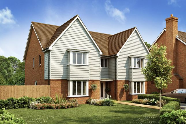 "Thumbnail Detached house for sale in ""Evesham"" at Langmore Lane, Lindfield, Haywards Heath"