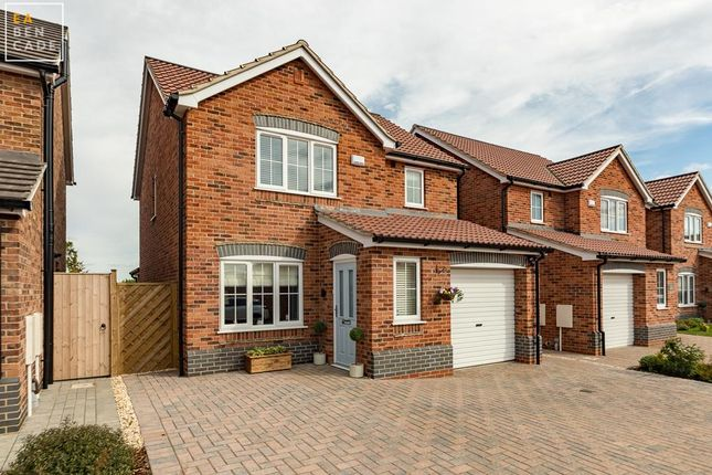 Thumbnail Detached house for sale in Alpina Close, Scunthorpe