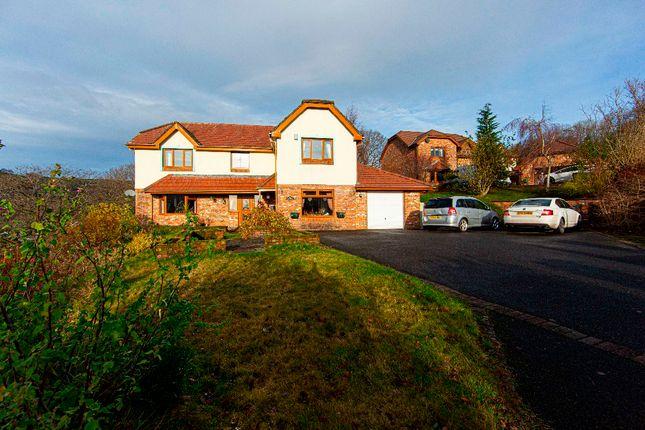 4 bed detached house for sale in Cwrt Nant Llwynog, Bedlinog, Treharris CF46