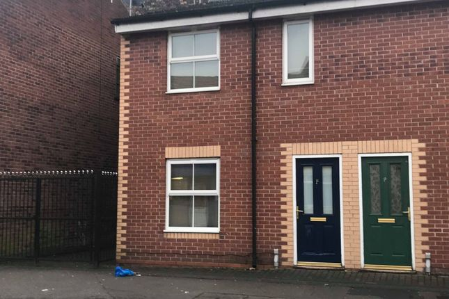 Thumbnail End terrace house for sale in Cave Street, Hull