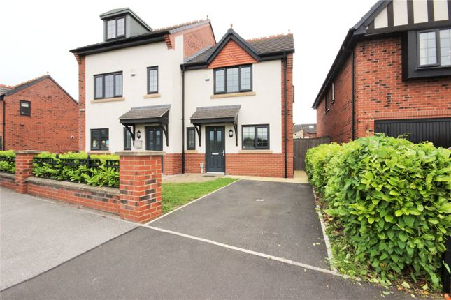 Thumbnail Semi-detached house for sale in Riley Way, Hull