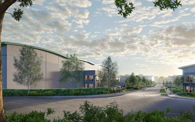 Thumbnail Light industrial to let in DC4B, Prologis Park, Hemel Hempstead, Hertfordshire