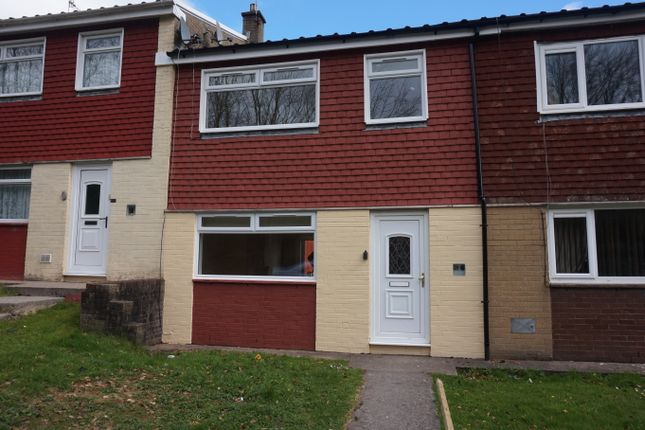 Thumbnail Terraced house for sale in Penlan View, Merthyr Tydfil