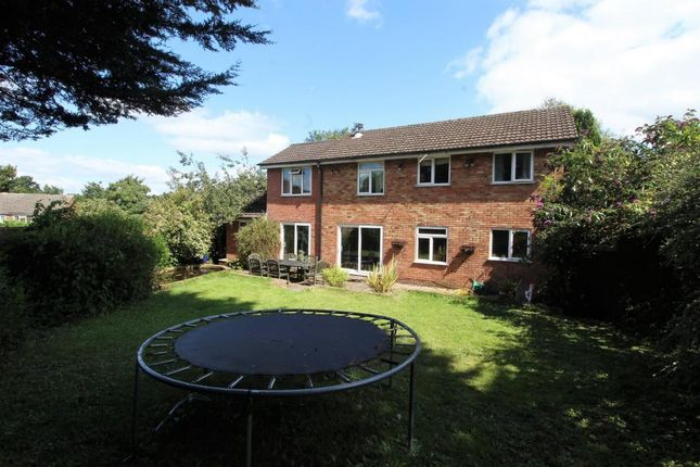 Thumbnail Detached house for sale in Corfe Gardens, Frimley