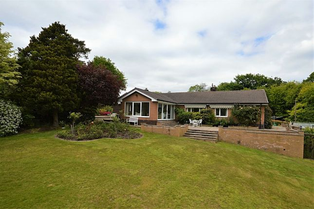 Thumbnail Detached bungalow for sale in Cowlishaw Brow, Romiley, Stockport
