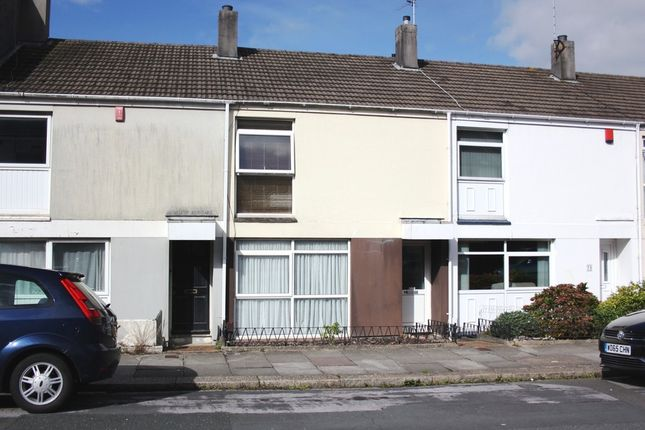Thumbnail Terraced house for sale in Browning Road, Stoke, Plymouth