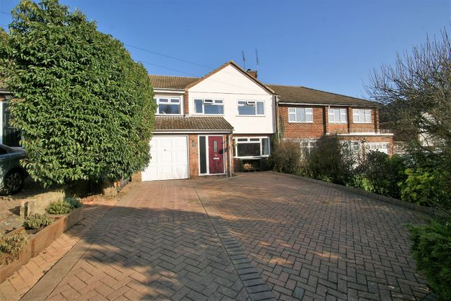 Thumbnail Semi-detached house for sale in Thorley Lane, Thorley, Bishop's Stortford