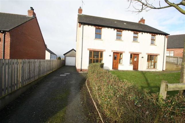 Thumbnail Semi-detached house for sale in Drummond Park, Ballynahinch, Down