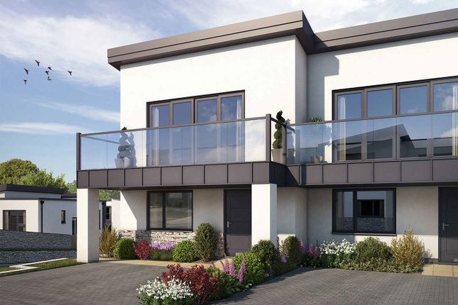 """Thumbnail Semi-detached house for sale in """"The Poldhu"""" at Welway, Perranporth"""