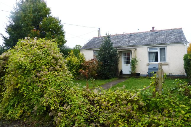 Thumbnail Detached bungalow for sale in The Bungalow, North Road, Whitland, Carmarthenshire