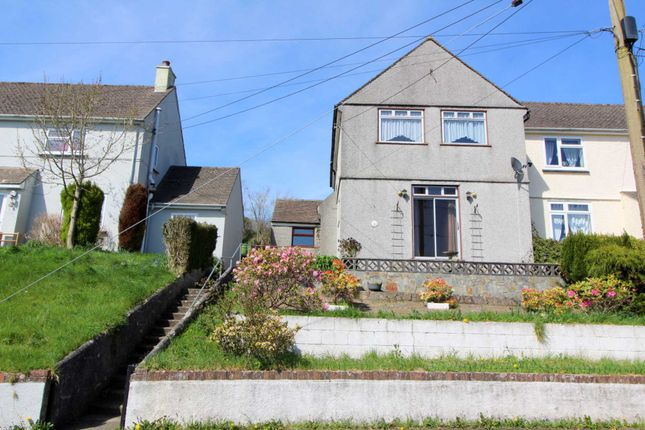Thumbnail Semi-detached house for sale in Church Lane, Calstock