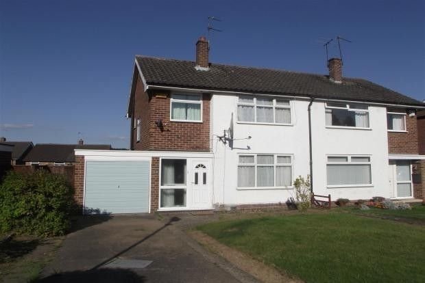 Thumbnail Semi-detached house to rent in Woodbank Drive, Wollaton, Nottingham, Nottingham