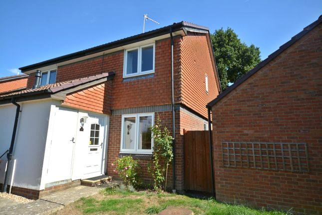 Thumbnail End terrace house to rent in Wythemede, Binfield