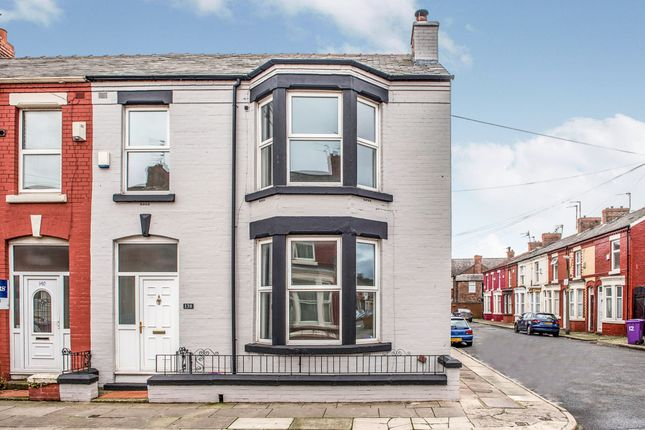 Thumbnail End terrace house for sale in Alderson Road, Wavertree, Liverpool