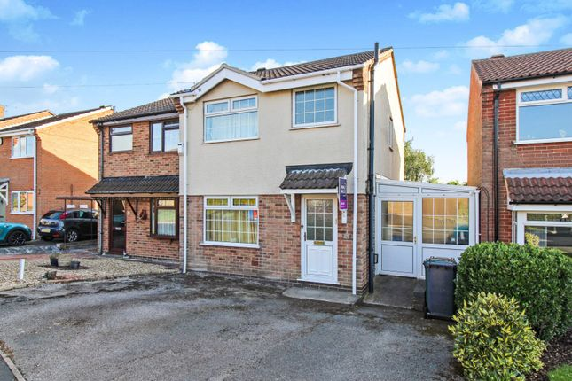 Thumbnail Semi-detached house for sale in Primrose Meadow, Midway, Swadlincote