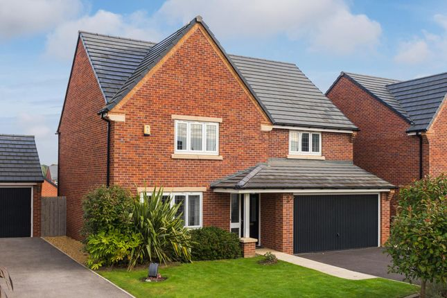 "Thumbnail Detached house for sale in ""Lamont"" at Cheriton Close, Connah's Quay, Deeside"