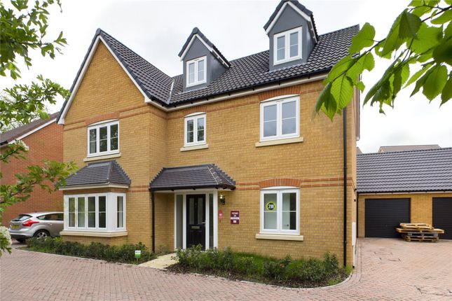 Thumbnail Detached house for sale in Lilburn Avenue, Royston